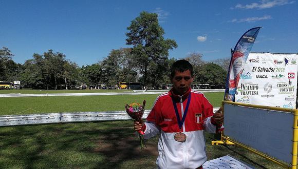 Peruano Christian Pacheco ganó medalla de bronce en Cross Country