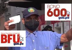 Bono 600, Bono Universal y BFU 2021: links disponibles para cobrar hoy