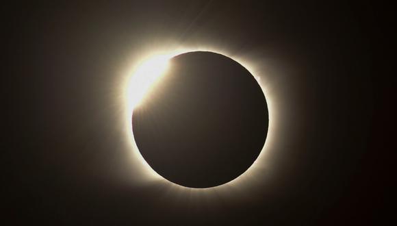 Eclipse 2020: revisa las mejores imágenes que dejó en Argentina, Chile y otros países. FOTO: AFP