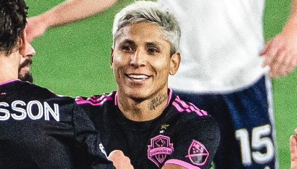 Raúl Ruidíaz es el máximo anotador de la MLS 2020 con 10 goles. (Foto: Seattle Sounders)