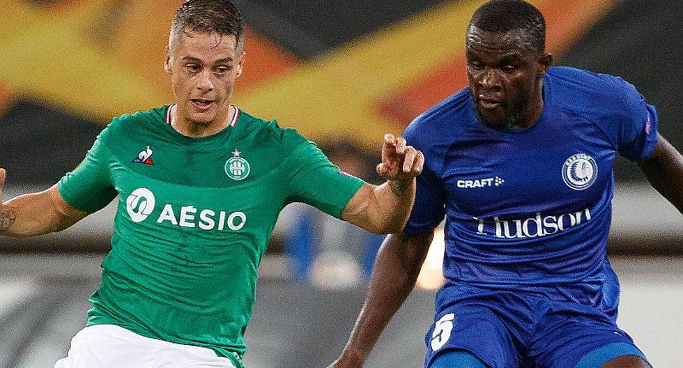 [Ver ESPN EN VIVO por Internet] Saint-Étienne 2-1 Gent con Miguel Trauco por el debut de la Europa League
