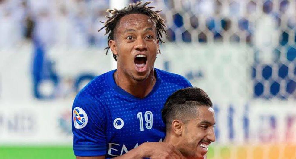 André Carrillo a las semifinales de la Copa Árabe