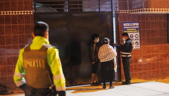 El crimen ocurrió la noche del lunes en  Villa María del Triunfo. (Fotos: César Grados /@photo.gec)