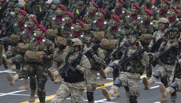 La Parada Militar se lleva a cabo como parte de las celebraciones de la independencia del Perú. (GEC)