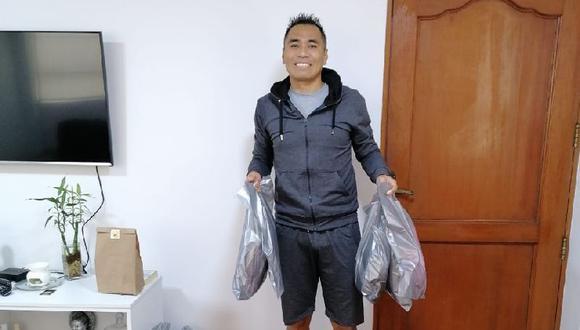 Tenchy Ugaz ahora se dedica a la venta de ropa.