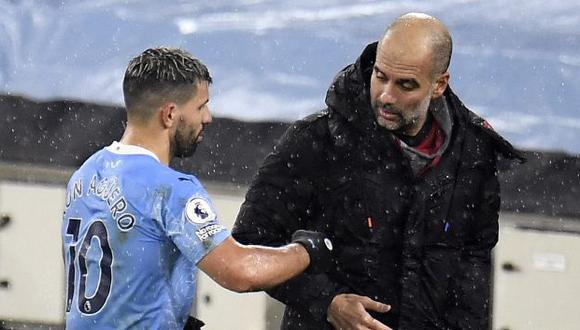 Sergio Agüero puso punto final a su etapa en Manchester City tras diez temporadas. (Foto: AFP)