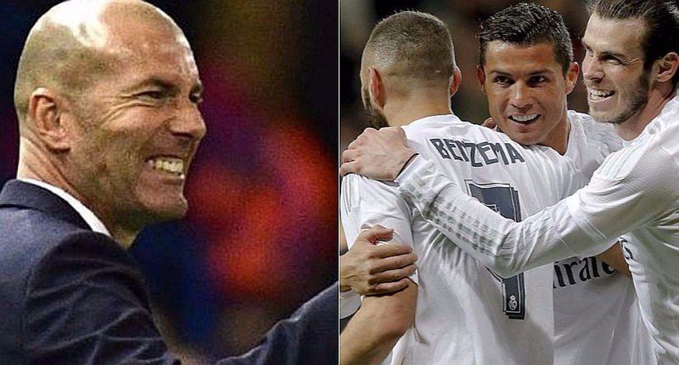 "Zinedine Zidane: ""Ojalá la 'BBC' se quede esta temporada"" [VIDEO]"