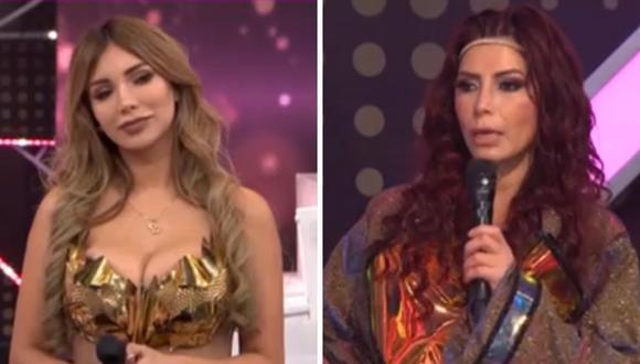 Milena Zárate criticó fuertemente a Paula Manzanal y ella le pidió que no le falte el respeto. (Foto: Captura América TV).