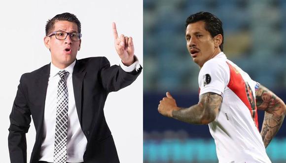 Erick Osores resaltó el despliegue de Gianluca Lapadula.