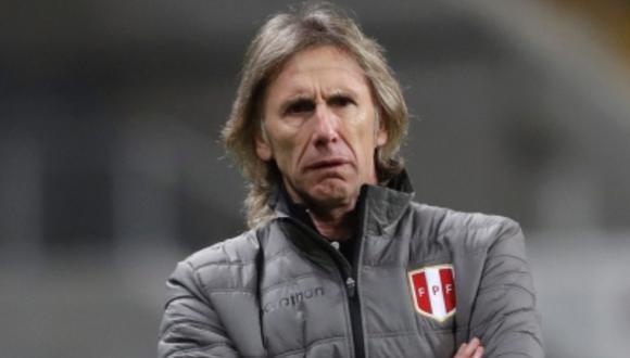 El presidente de la Federación Peruana de Fútbol, Agustín Lozano indicó entre otras cosas el malestar de Ricardo Gareca por la suspensión de la Liga 1. FOTO: Archivo