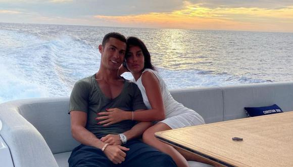 Georgina Rodríguez y Cristiano Ronaldo viajaron fuera de Turín incumpliendo normas (Foto: @Cristiano)