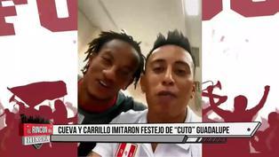 """Cueva, Carrillo y Lapadula homenajean al """"Cuto"""": """"La fe es lo más lindo de la vida"""""""