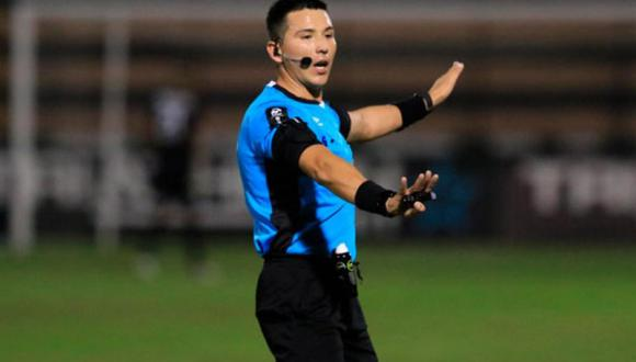 Diego Penny reveló que el árbitro Kevin Ortega lo insultó durante el partido Sporting Cristal vs. San Martín. (Foto: Difusión)