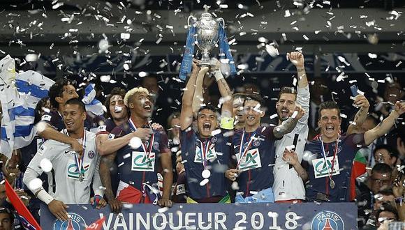 PSG se coronó campeón de la Copa de Francia por cuarta vez consecutiva