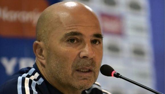 "Jorge Sampaoli tras agresión a policía: ""Me siento totalmente arrepentido"""