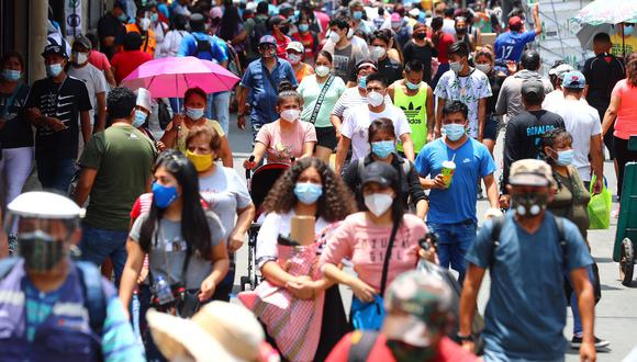 El Minsa actualizó las cifras de contagios y fallecidos por COVID-19. Foto: GEC