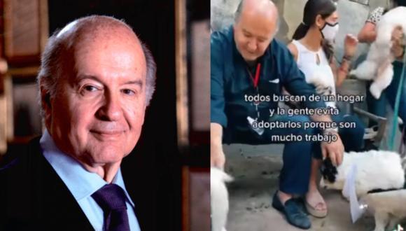 Hernando De Soto visitó albergue para perros.