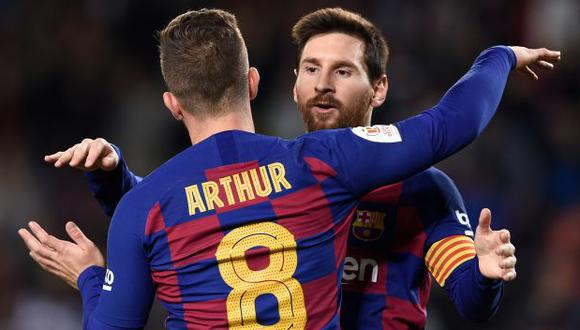 Arthur Melo fichó por el FC Barcelona a mediados del 2018, procedente de Gremio. (Foto: AFP)
