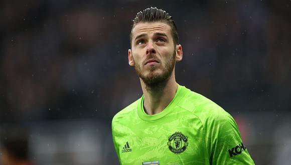 David de Gea tiene contrato con el Manchester United hasta el 2023. (Foto: Reuters)