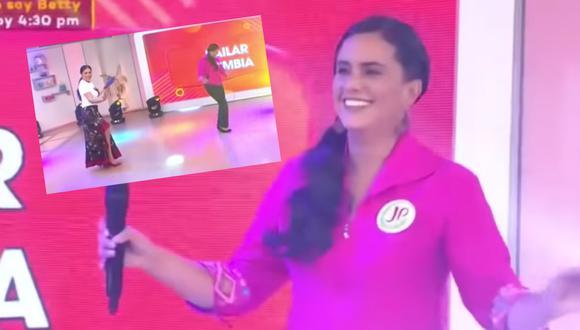 La candidata de Juntos por el Perú, Veronika Mendoza mostró otra faceta en el programa 'Mujeres al Mando'