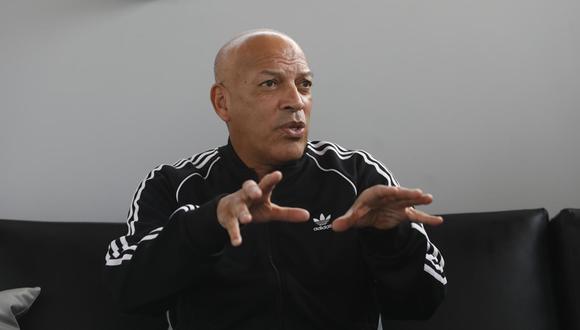 El técnico de Sporting Cristal se retractó de sus palabras hacia Coki Gonzales. (Foto: GEC)