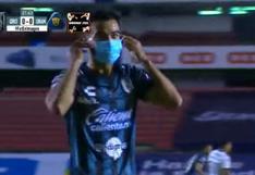 La celebración de jugador de Querétaro que llama a la conciencia en medio de la pandemia | VIDEO