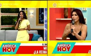 """Milena Zárate se enfrenta a Melissa Paredes en vivo: """"gracias a mi payasada tuviste titulares"""""""
