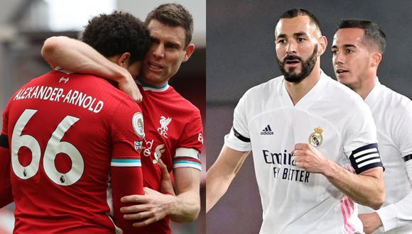 Real Madrid y Liverpool se enfrentan por el partido de vuelta de los cuartos de final de la Champions League. (Foto: Internet)