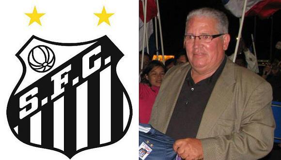 Santos homenajea así a ex gloria de Sporting Cristal