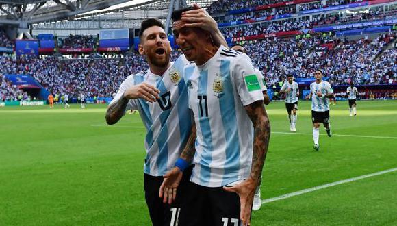 Ángel Di María sitúa a Lionel Messi por arriba que Cristiano Ronaldo, Neymar o Kylian Mbappé. (Foto: AFP)