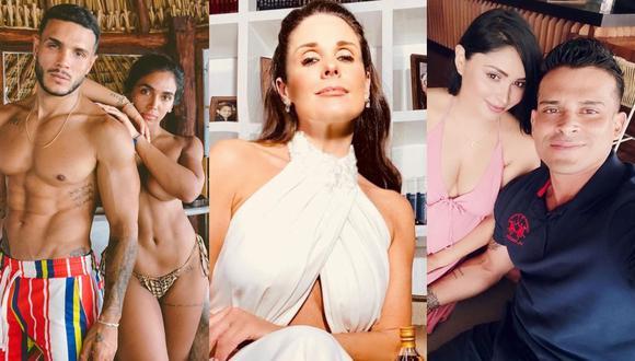 """Rebeca Escribens pide respeto para Mario Irivarren y Pamela Franco tras bromas en """"Reinas del Show"""". (Foto: Composición/Instagram)"""