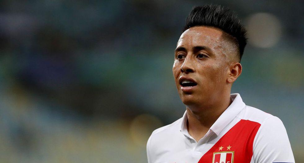 Christian Cueva, volante de la selección peruana