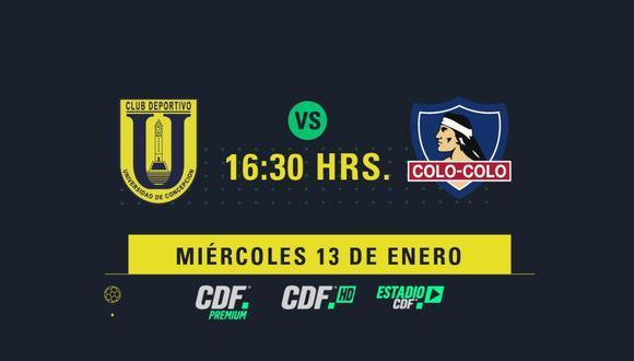 Boca Juniors vs. Universidad de Concepción: se miden por el Campeonato Nacional de Chile.