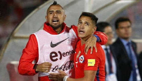 Arturo Vidal y Alexis Sánchez subieron una curiosa foto a Instagram y muchos aseguran que quieren provocar a Perú.