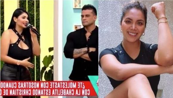 Pamela Franco y su respuesta cuando le pregunta por Isabel Acevedo. (Foto: captura de video/ Instagram)