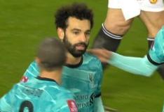 Manchester United vs. Liverpool: Mohamed Salah puso el 2-2 parcial y firmó así su doblete | VIDEO