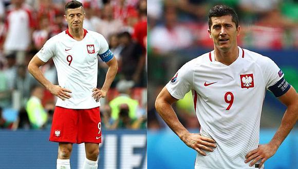 """La queja de Robert Lewandowski tras la eliminación de Polonia: """"Estuve solo"""""""
