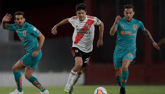 La señal de ESPN 2 en vivo y en directo llevará la transmisión del partido entre River Plate y Liga de Quito por la fase de grupos de la Copa Libertadores.