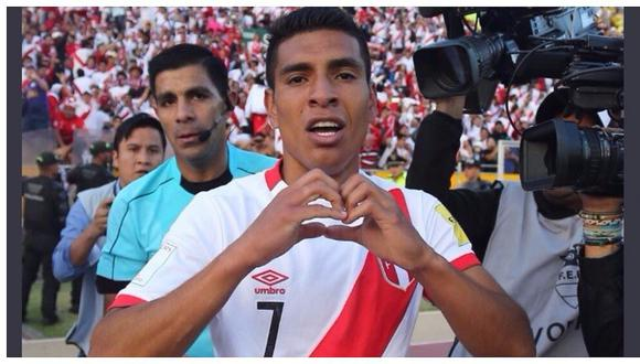 Paolo Hurtado le dio el histórico triunfo a la selección peruana en Quito rumbo al Mundial de Rusia 2018.