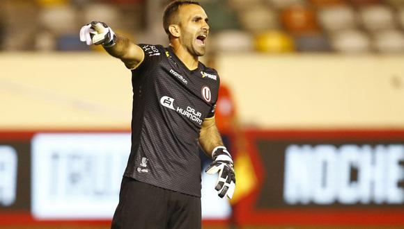 José Carvallo fue convocado para enfrentar a Paraguay y Brasil por las Eliminatorias rumbo a Qatar 2022. (Foto: El Comercio)