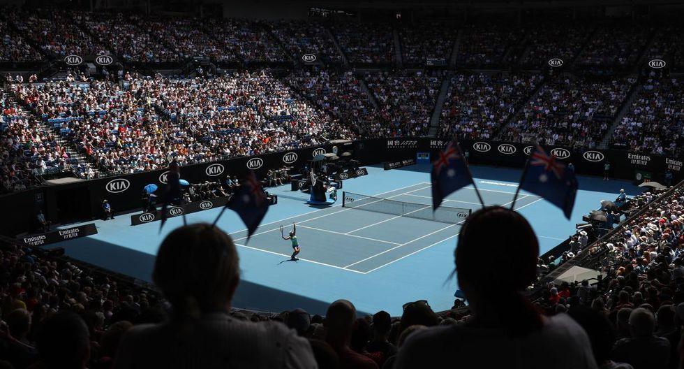 No te pierdas todos los detalles de las semifinales del Australian Open. (Foto: AFP)
