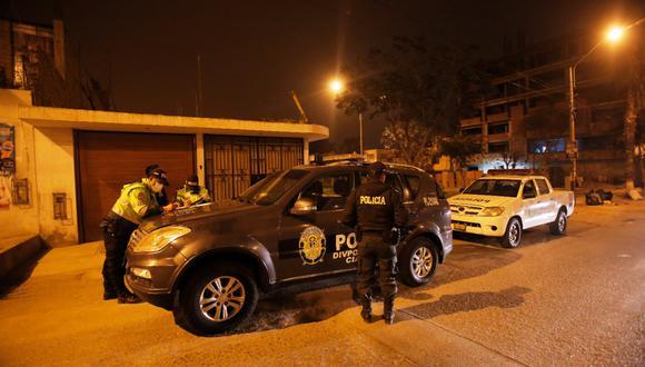 En aparente ajuste de cuentas asesinan a venezolano en San Martín de Porres. Foto: César Grados/@photo.gec