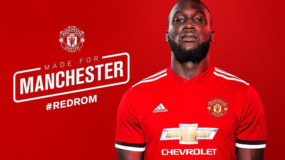 Romelu Lukaku completa su primera práctica con el Manchester United (FOTOS)