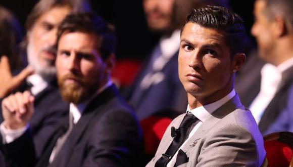 Cristiano Ronaldo y Lionel Messi, protagonistas de los mensajes de Barcelona y Juventus. (Foto: AFP)