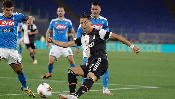 Juventus y Napoli se enfrentarán en Turín luego de polémica por coroanvirus. (Foto: AFP)
