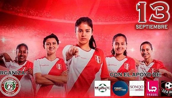 Así fue el banderazo por la igualdad en el Estadio Nacional de las chicas del fútbol femenino | VIDEOS