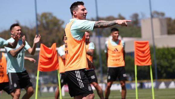 Argentina empató 1-1 con Paraguay en su reciente presentación en Eliminatorias Qatar 2022. (Foto: AFA)