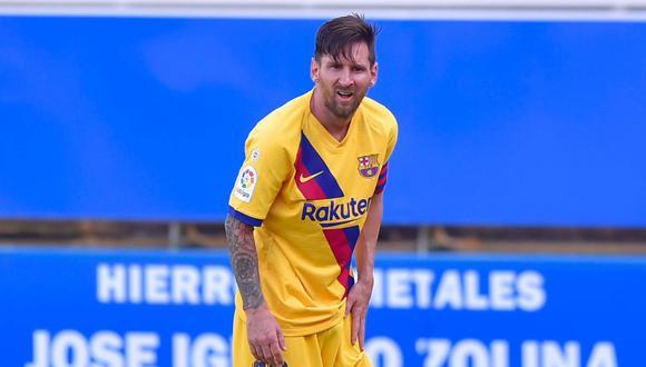 La evaluación final de Lionel Messi tras concluir la temporada de Barcelona en LaLiga. (Foto: AFP)