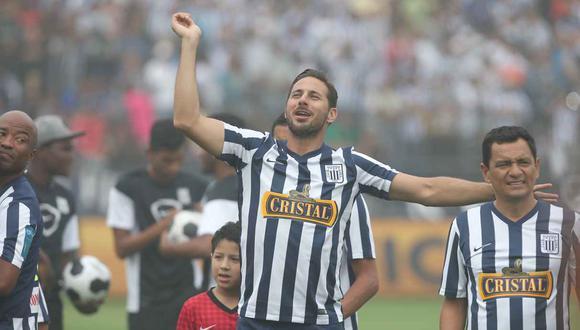 El aliento de Claudio Pizarro antes de la final entre Alianza Lima y Binacional. (Foto: GEC)
