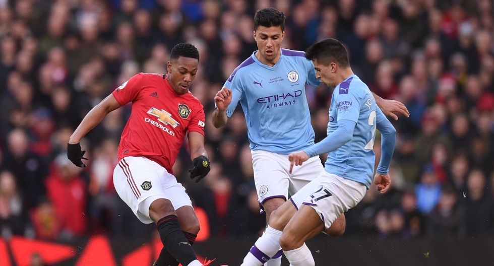 Manchester United vs. Manchester City, por la Premier League. (Foto: AFP)